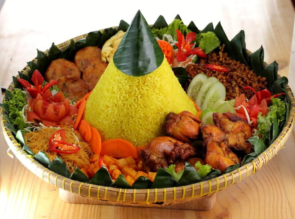 Nasi Tumpeng – Cornucopia Rice   BRISTOL INDONESIAN SOCIETY